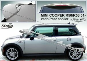 Spoiler Rear Roof Tailgate Mini Cooper R50 R53 Wing Accessories