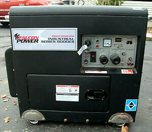 Falcon Fdg 8000 Air Cooled Electric Diesel Engine Generator
