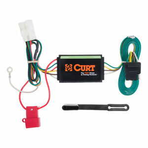 Trailer Hitch Tow Towing T connector Wiring Connection Kit Curt Part 56040