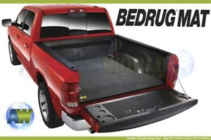 Bedrug Custom Gray 5 6ft Bed Mat For Truck With Existing Drop in Liner Bmt09ccd