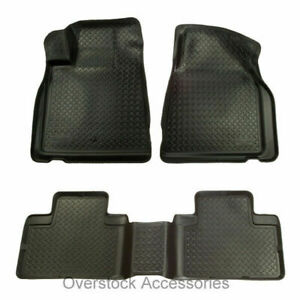 Husky Liners Classic 1st 2nd Row Floor Mats Black For 92 99 Chevy gmc Suburban