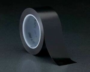 3m Black Marking Tape 48 In Width X 5 2 Mil Thick 23329 price Is Per Roll