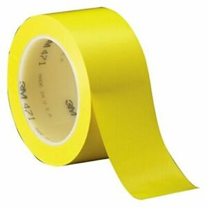 3m Yellow Marking Tape 3 8 In Width X 5 2 Mil Thick 38060 price Is Per Case