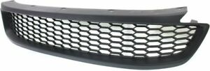 Bumper Grille For 2013 2015 Honda Accord Coupe Center Textured Black Plastic