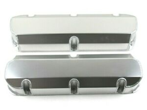 Ford 5 0l 302 Fabricated Tall Aluminum Valve Covers Clear Ano E41342ca