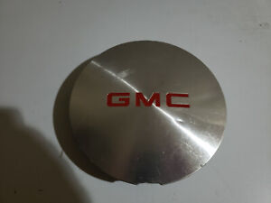 95 01 Gmc Jimmy Sonoma Oe Machined Center Cap Red Logo 15661131 15724975 Bx50