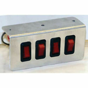 Buyers Products 6391101 Switch Rocker 2 position On off 20 Amp 2 Lot Of 32