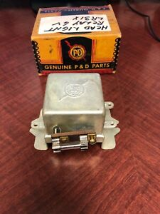Nors 6 volt Fused Double Light Relay Lr10x2 883 Lr4
