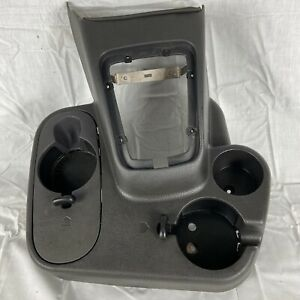 Dodge Ram Floor Console Cup Holder Manual Shifter 2wd 98 01 1500 2500 3500