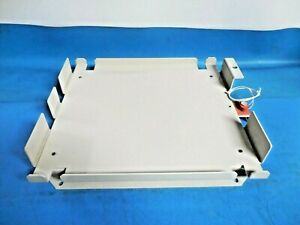 Powder Coated Aluminum Double Battery Tray With 110v Heating Element no Strap