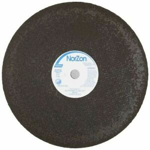 Norton Norzon Foundry Reinforced Abrasive Cut off Wheel Type 1 Flat Zirconia A