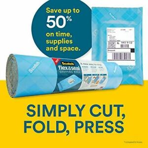 Scotch Flex Seal Shipping Roll 2 Rolls 15 Inches X 20 Feet Simple Packaging