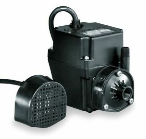 Little Giant 1 40 Hp Recirculating Pump 115v Voltage Continuous Duty 15 Ft
