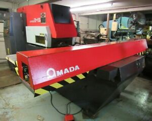 22 Ton Cnc Turret Punch Amada Aries 245 W Auto Indexing Low Hit Count