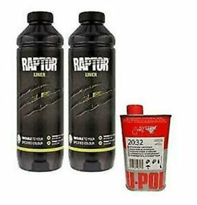 U pol Raptor Tintable Urethane Spray on Truck Bed Liner Kit 2 Liter