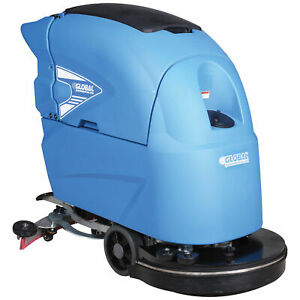 Auto Floor Scrubber 20 Cleaning Path