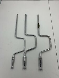 Snap On Speed Handle Wrench Set 3 Piece 2x 3 8 And 1 4