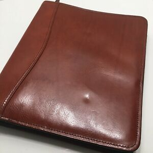 Scully Leather Classic Planner Organizer Fits Franklin Covey