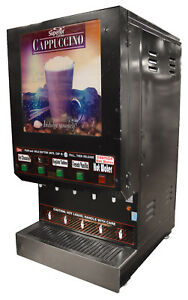 Cecilware Gb4mw 11 ld Gb4m 4 Flavor Commercial Cappuccino Machine W Hot Water
