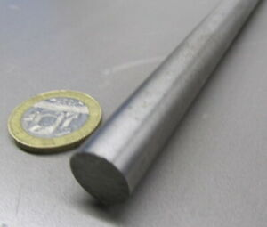 304 Stainless Steel Round Rod 500 1 2 Dia X 2 Foot Length