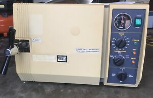 Tuttnauer 2540m Dental Medical Autoclave Sterilizer With Trays And Manual