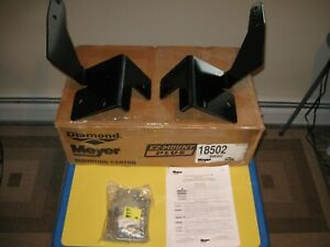 Meyer Drive Pro Plow Truck Mount Carton 18502 New For 2005 15 Toyota Tacoma 4x4