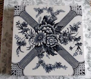 Victorian Aesthetic Movement Antique English Tile