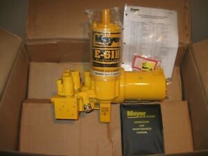 Meyer E 61h Snow Plow Pump New Hydraulic Unit That Came In Carton Box 15648