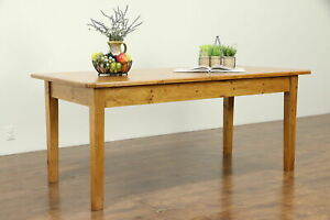Reclaimed Pine Country Farmhouse Harvest Dining Table 32730