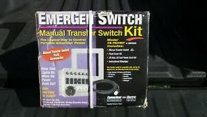 Connecticut Electric 6 7501kit Emergen Switch Manual Transfer Switch