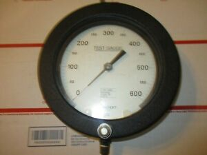 Used Ashcroft 600 Psi Test Gauge Temperature Compensation Made Usa Free Ship