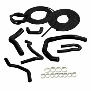 Silicone Hose Vacuum Hose Kit For Honda Civic Type R Ek Eg B16a B18c Black