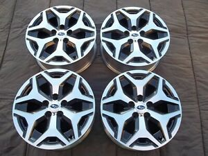 2019 Subaru Forester 17 Wheels 68866 Factory Cnc Rims 17 Outback Legacy 5x114 3