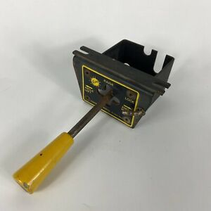 Fisher Western Plow Controller Joystick Stick Yellow Hydraulic Oem