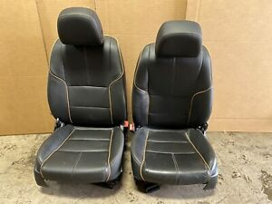 2016 Chevy Impala Ltz Front Leather Bucket Seats Heat And Cooled