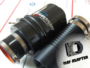 Kamotors Bmw Cf Cold Air Intake W Maf Adapter For M20 M42 E30 325i 318i