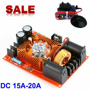 15a 20a Zvs Tesla Coil Power Supply Generator High Voltage Module ignition Coil