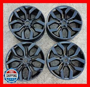Hyundai Veloster 2012 2013 2014 2015 Factory Wheel Set 18 Rims 70814 Black S