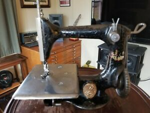 Antique Singer Chain Stitch 24 3 Sewing Machine Head Restored