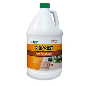 Rid O Rust Liquid Rust Stain Remover And Calcium Cleaner Concentrate Remove
