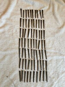 Vintage 70 Square Cut 2 2 1 2 Inch Straight Nails W Square Heads