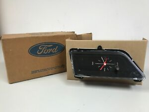 1969 1970 Ford Galaxy Clock Assembly Nos