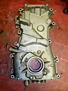 93 01 Nissan Altima Genuine Oil Pump Lower Timing Chain Engine Cover Ka24