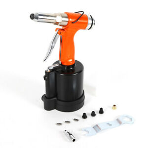 Riveter Gun Industrial Air Hydraulic Pop Nail Gun Pneumatic Tool Set 16mm Usa