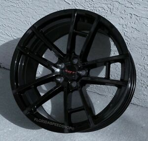 New Dodge Challenger Charger Gloss Black T A 392 Style Wheels 20x9 Srt 392