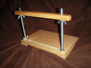 Mini Sewing Frame For Sewing Miniature Books On Cords Or Tapes Book Binding 3335