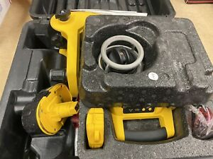 Dewalt Dw077 Cordless Rotary Laser Level Extras See Pictures Free Shipping
