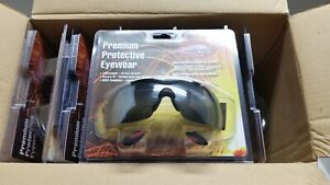 Fibre metal Fmx Premium Protective Eyewear Safety Glasses Box Of 10 New