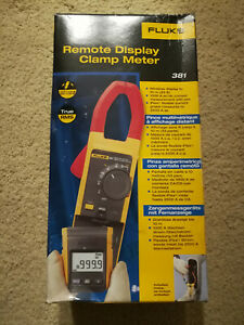 Fluke 381 Remote Display True Rms Ac dc Clamp Meter With Iflex New