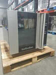 Moffat E32d5 Full size Single Deck Electric Turbofan Convection Oven Used 208v